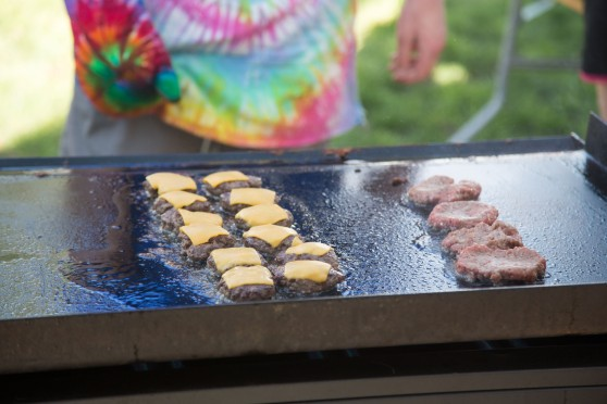 Burgers on the Griddle